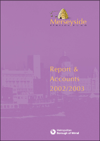Report & Accounts 02/03 front cover