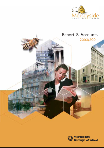 Report & Accounts 03/04 front cover