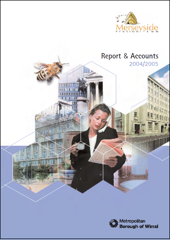 Report & Accounts 04/05 front cover