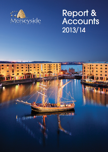 Report & Accounts 13/14 front cover