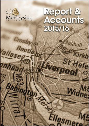 Report & Accounts 15/16 front cover