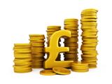 Column of coins