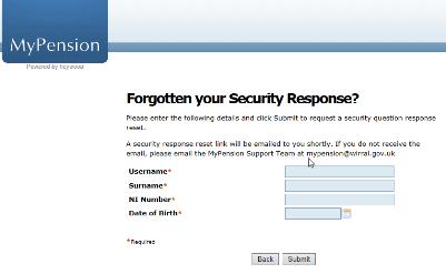 Forgotten your screen capture security response