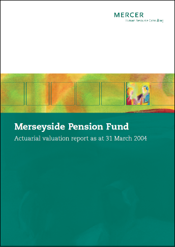 2004 Valuation Report Front cover