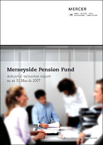 2007 Valuation Report Front cover