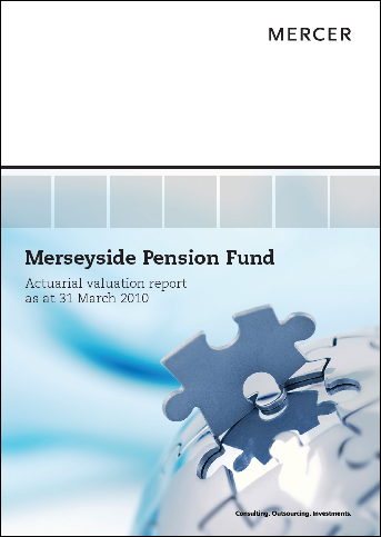 2010 Valuation Report Front cover