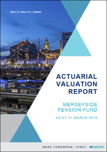 2016 Valuation Report Front cover